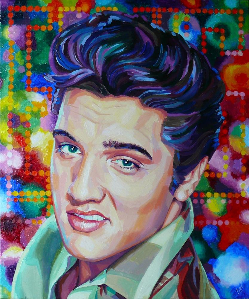 Elvis Presley par Vasilina